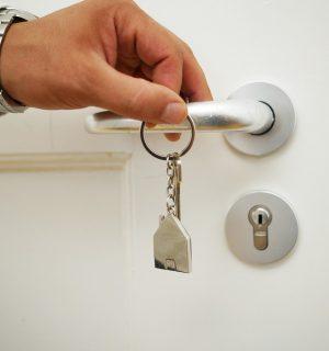 house, key, house keys